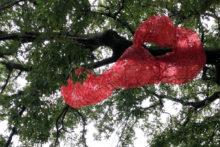 Tatiana Wolska, exhibition view at Frieze Sculpture, London (UK), 2021